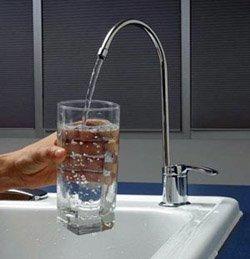 Установка фильтра очистки воды город Шелехов